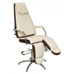Педикюрное кресло «Милана» (гидравлическое с опорами под ноги)